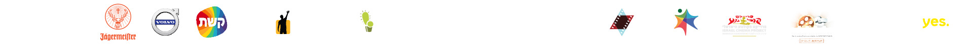 לוגואים של שותפים לסרט